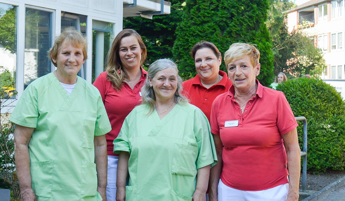Das Team für Betreuung