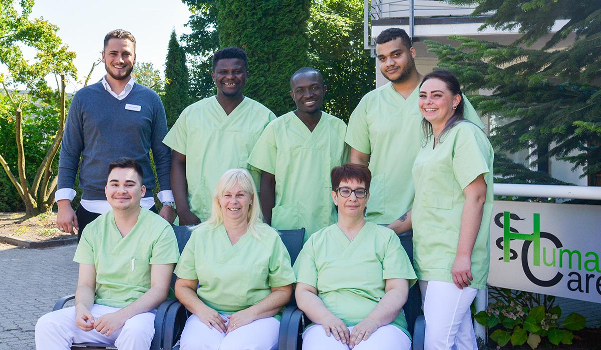Das Pflege-Team